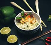 Curry Tropical avec Crevettes